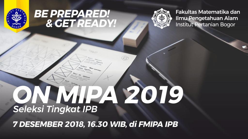Informasi ON MIPA PT 2019
