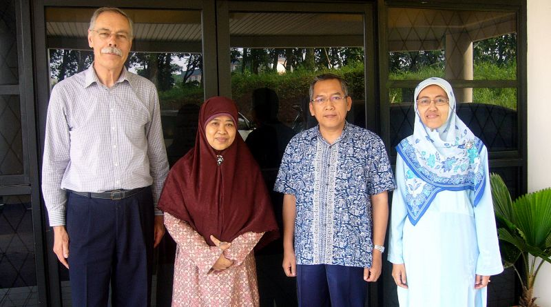A Visit from Mathematics Expert of Twente University, The Netherlands