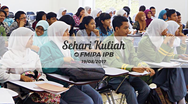 Lustrum VII FMIPA IPB: Pendaftaran Sehari Kuliah di FMIPA
