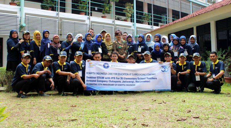 Komatsu & FMIPA Jalin Kerjasama di Bidang Pendidikan