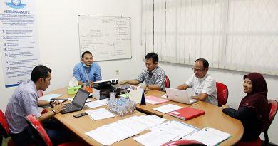 Hari Kedua Audit Eksternal ISO FMIPA melibatkan KTU, Tendik Sarana Prasarana, dan Tendik Kepegawaian