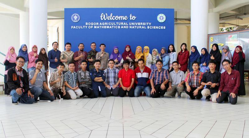 Foto bersama delegasi IPB menuju ONMIPA 2018