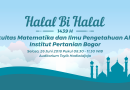 Undangan Halal Bil Halal 1439 H FMIPA