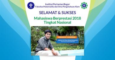 Mahasiswa Berprestasi 2018 Tingkat Nasional