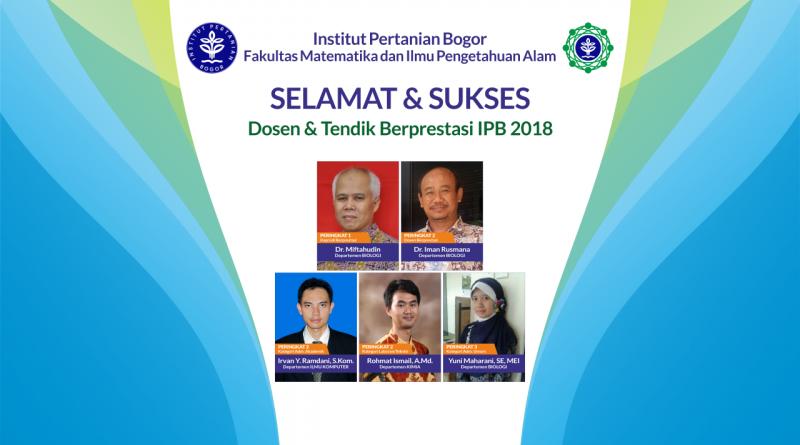 Dosen & Tendik Berprestasi 2018 Tingkat IPB