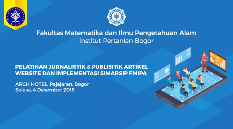 Pengumuman Pelatihan Jurnalistik Website dan SIMARSIP