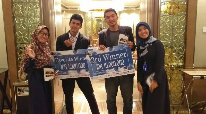 Mahasiswa FMIPA IPB Raih Juara 3 Business Plan The 8th UI Studentpreneurs