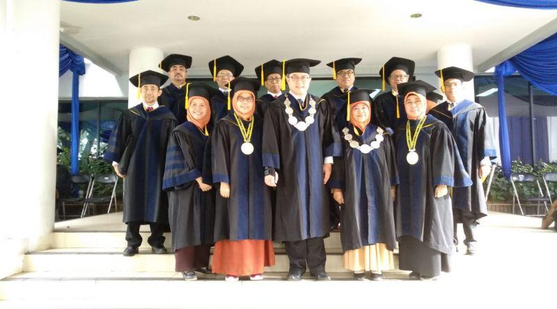 Wisuda Tahap V Tahun Akademik 2018/2019 dan Pelepasan Wisudawan FMIPA IPB di Auditorium FMIPA IPB