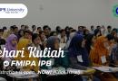 Pendaftaran Sehari Kuliah di FMIPA IPB 2019