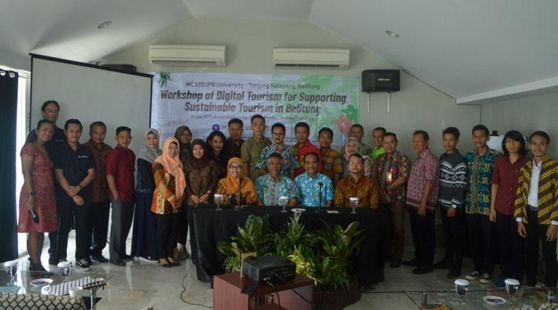 Lima Dosen Muda FMIPA IPB Bantu Konsepkan Pariwisata di Pulau Belitung