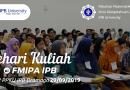 Pengumuman Sehari Kuliah di FMIPA IPB 2019