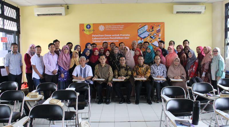 Pelatihan Dasar untuk Pranata Laboratorium Pendidikan dan Teknisi Laboratorium IPB