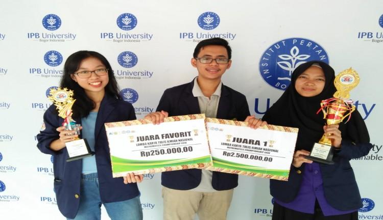 Mahasiswa FMIPA IPB Rancang Aplikasi dengan Matematika untuk Penanganan Pascabencana Alam