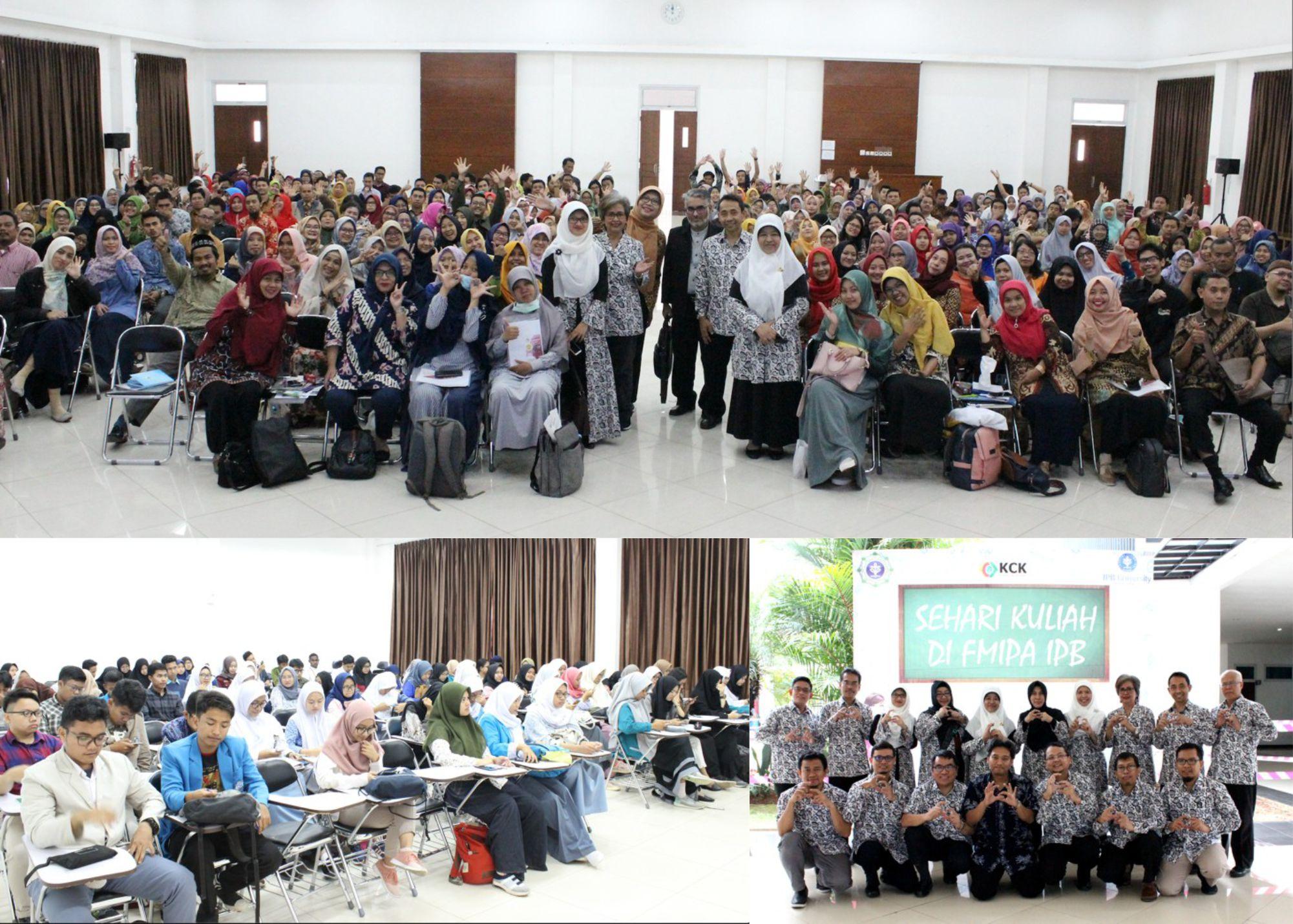 SDGs Sehari Kuliah di FMIPA IPB 2019