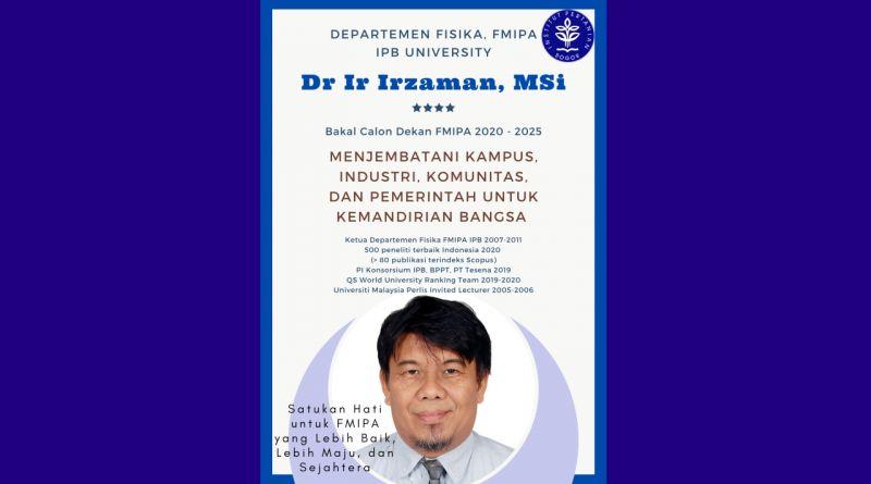 Program - Program Bakal Calon Dekan (BCD) FMIPA 2020- 2025 No Urut 1