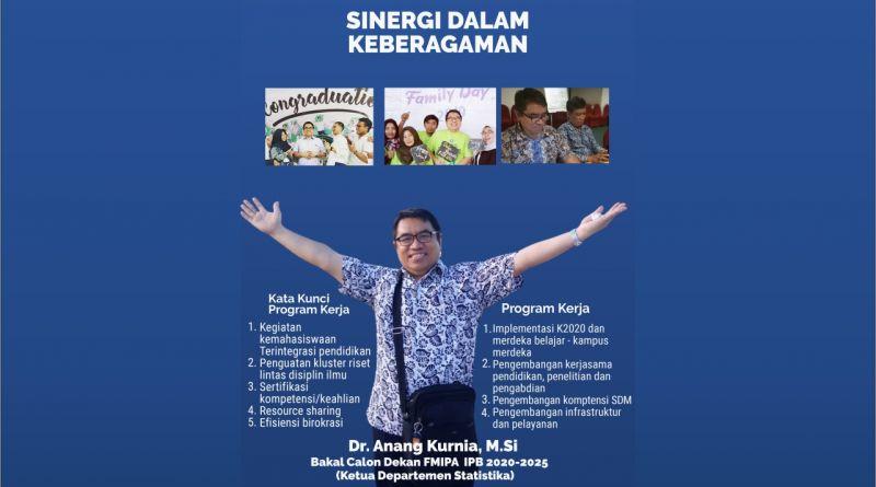 Program – Program Bakal Calon Dekan (BCD) FMIPA 2020- 2025 No Urut 6