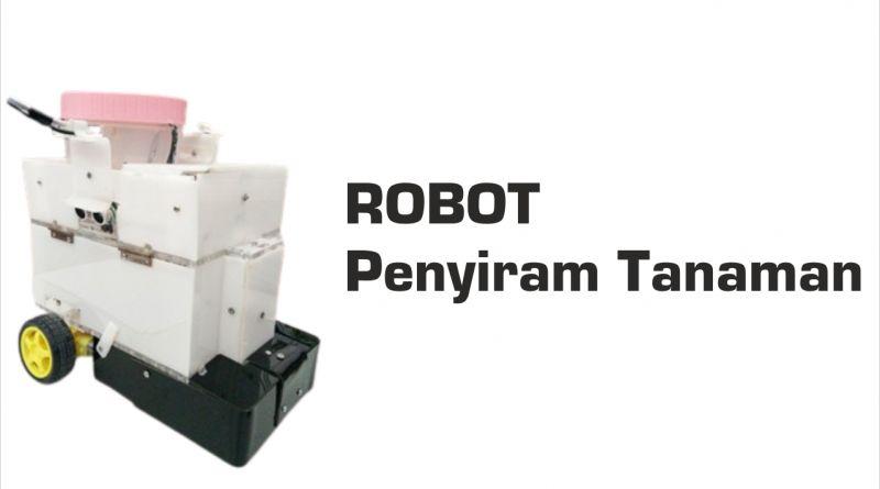 Mengenal Robot Penyiram Tanaman Buatan Dosen dan Mahasiswa FMIPA dan Sekolah Vokasi IPB University