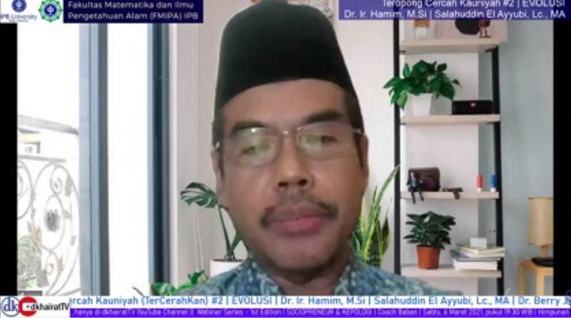 Kaitan Teori Evolusi dengan Beberapa Surah di Al-Quran Menurut Dosen FMIPA IPB