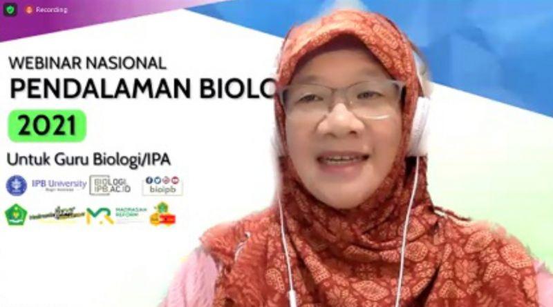 Ahli Biologi FMIPA IPB Beri Kuliah Singkat pada Para Guru Biologi/IPA Se-Indonesia