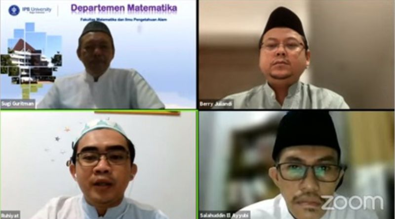 Kajian TerCerahKan FMIPA IPB University Bahas Peran Matematika dalam Dunia Islam dan Penerapannya dalam Sains